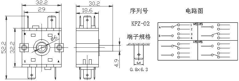 rotary switchkfz